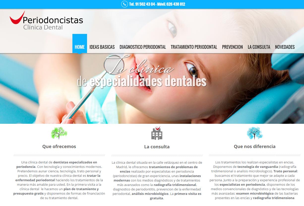 especialistas encias madrid periodoncia